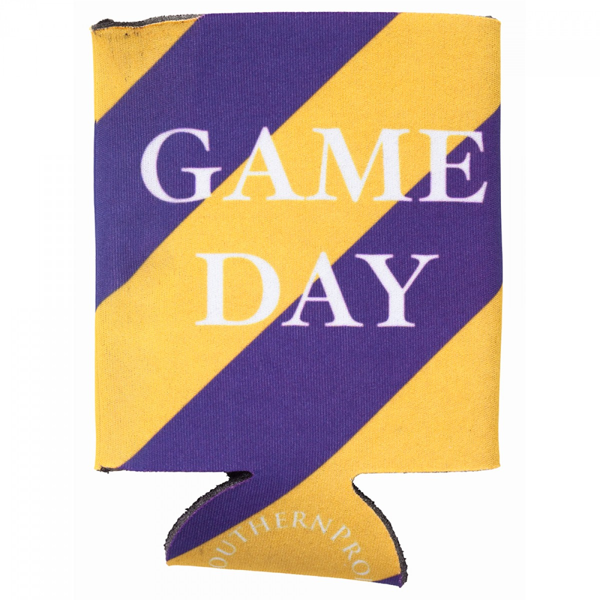 Purple & Gold Gameday Coozie